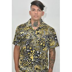 Camisa Tecido Animals