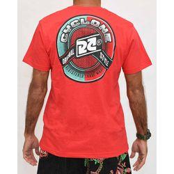 Costas Camisa Waves Silk Vermelha