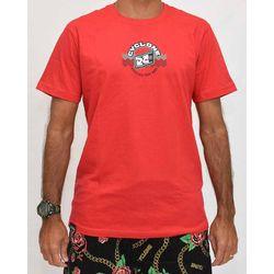 Camisa Waves Silk Vermelha