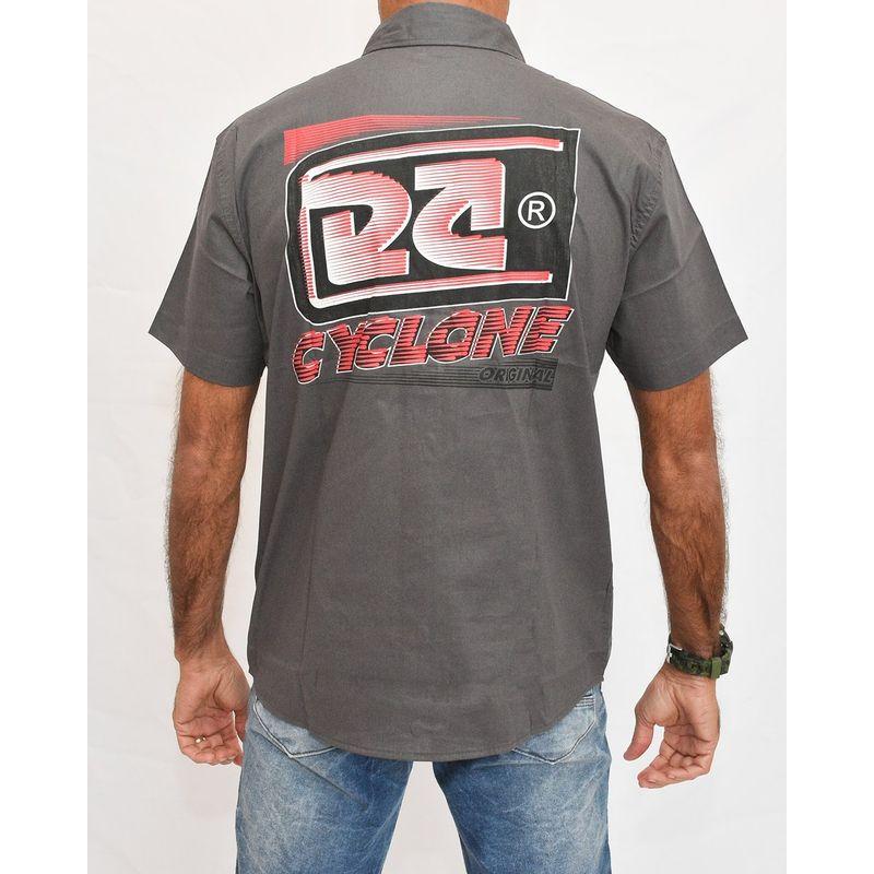 Costas Camisa Tecido Azonix