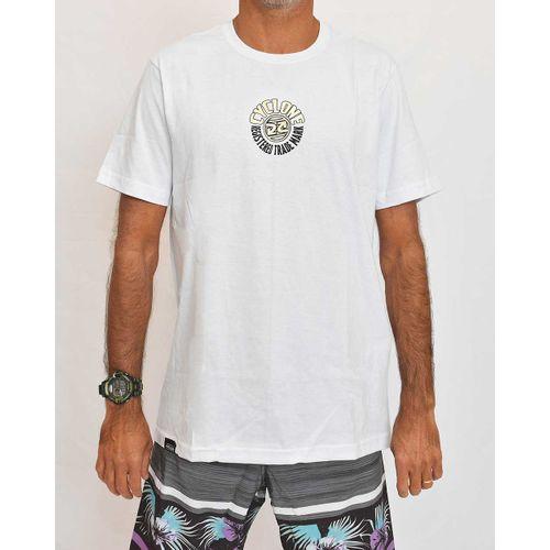 Camisa Round Metal Branca