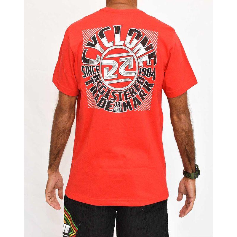 Costas Camisa Round Metal Vermelha
