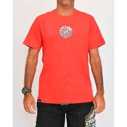 Camisa Round Metal Vermelha