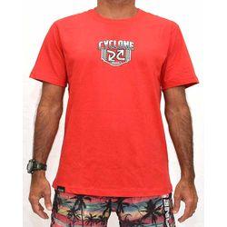 Costas Camisa Shield Metal Vermelha