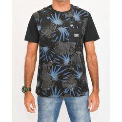 Camisa Botanic Preta
