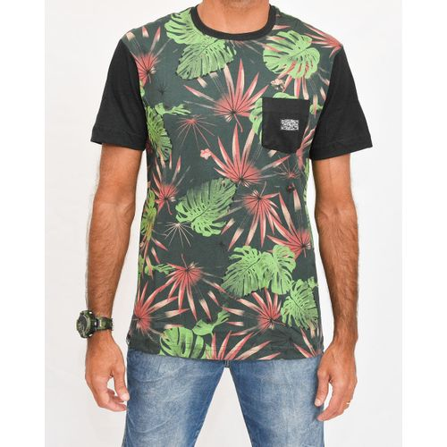 Camisa Botanic Verde