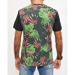 Costas Camisa Botanic Verde