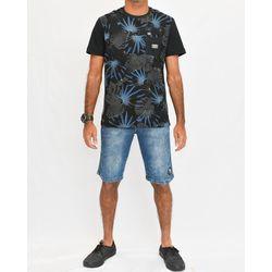 Look Camisa Botanic Preta