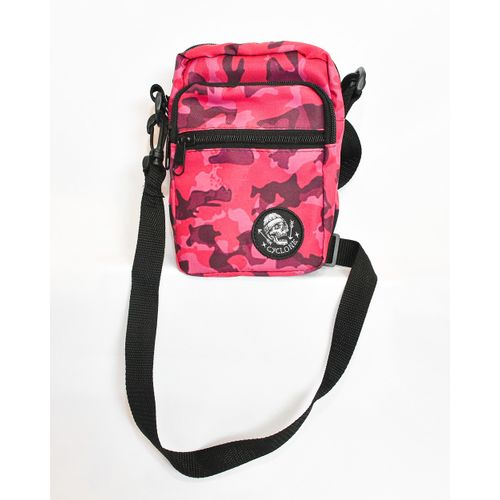 Bolsa Shoulder Ball Camuflage Rosa