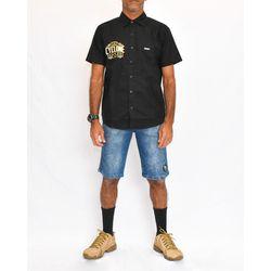 Look Camisa Tecido Furius Preto