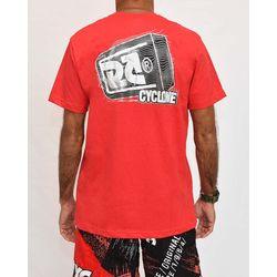 Costas Camisa Magnetic Metal Vermelho