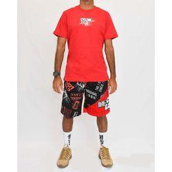Look Camisa Magnetic Metal Vermelho
