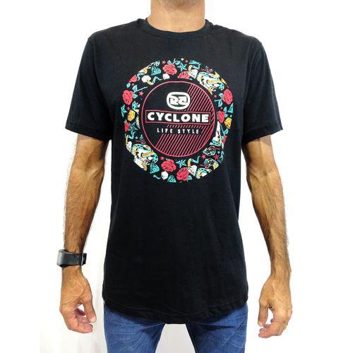 Camisa Snake Tattoo Preto