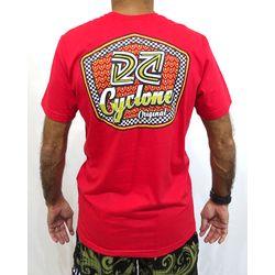 Costas Camisa Jump Metal Vermelho