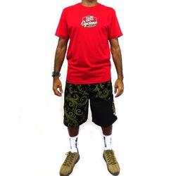 Look Camisa Jump Metal Vermelho