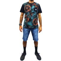 Look Camisa Tropicalia Preto