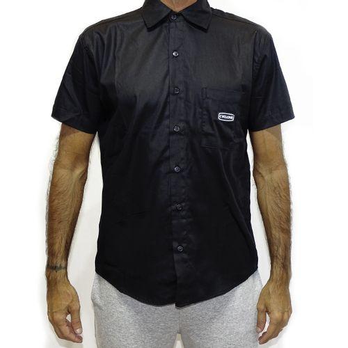 Camisa Tecido Written Preto