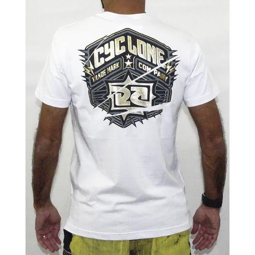 Costas Camisa Gothic Metal Branco
