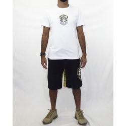 Look Camisa Gothic Metal Branco