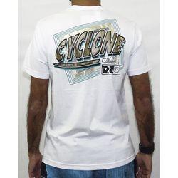 Costas Camisa Extrusion Metal Branco