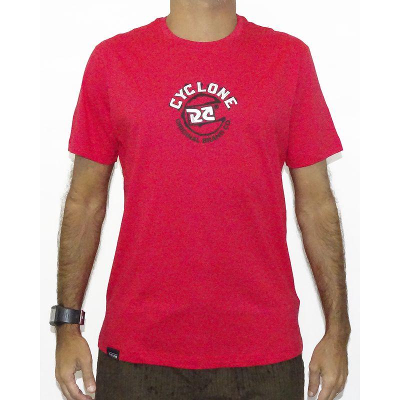 Camisa Paint Metal Vermelho
