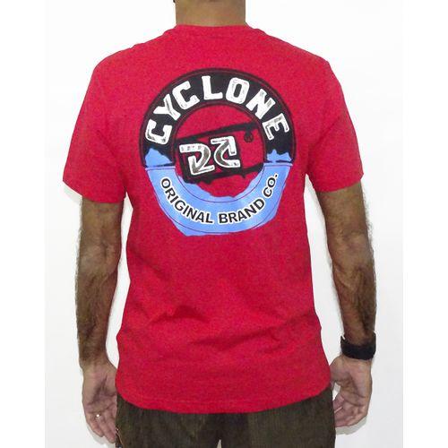 Costas Camisa Paint Metal Vermelho