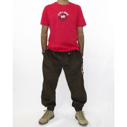 Look Camisa Paint Metal Vermelho