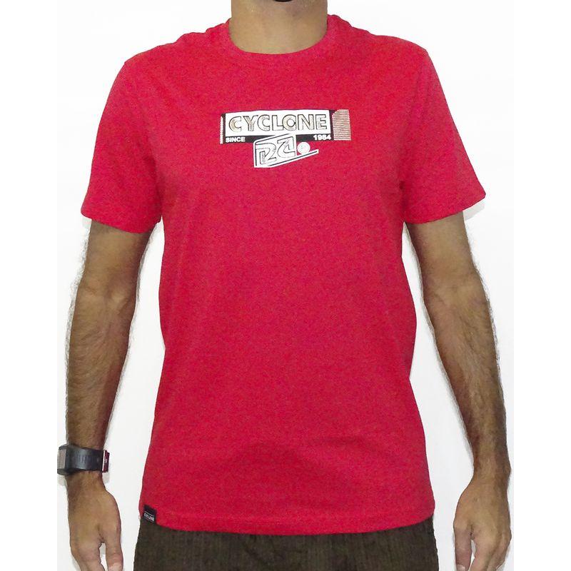 Camisa Alvedom Metal Vermelho
