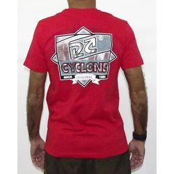 Costas Camisa Alvedom Metal Vermelho