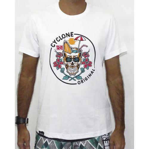 Camisa Skull Surf Branco