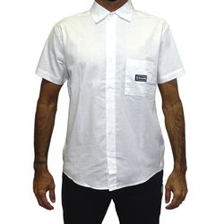 Camisa Tecido Gothic Metal Branco