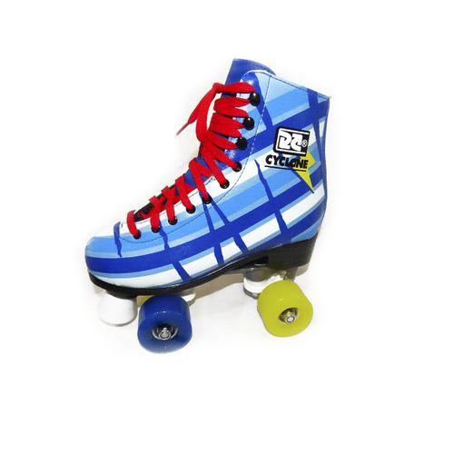 Patins Roller Cyclone Azul Bolt