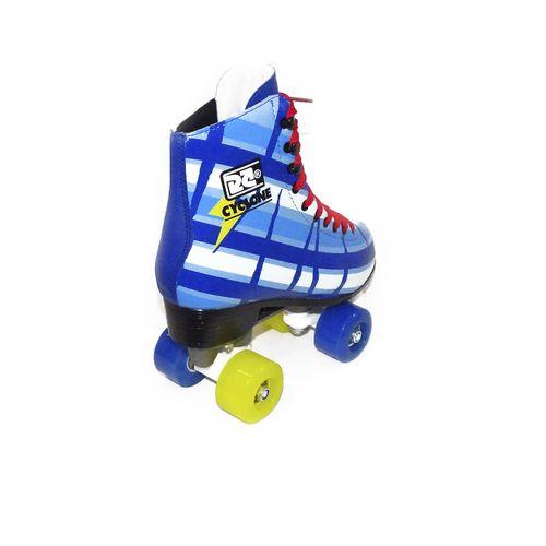 Detalhes Patins Roller Cyclone Azul Bolt