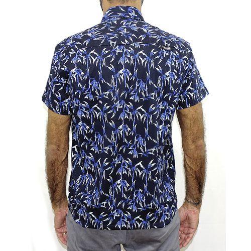 Costas Camisa Tecido Bamboo Preto
