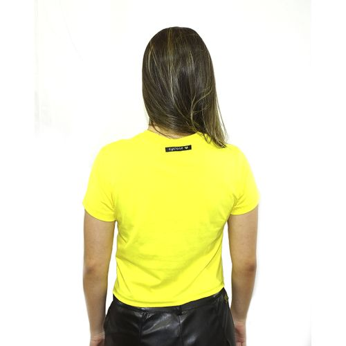 Costas Baby Look International Metal Amarelo