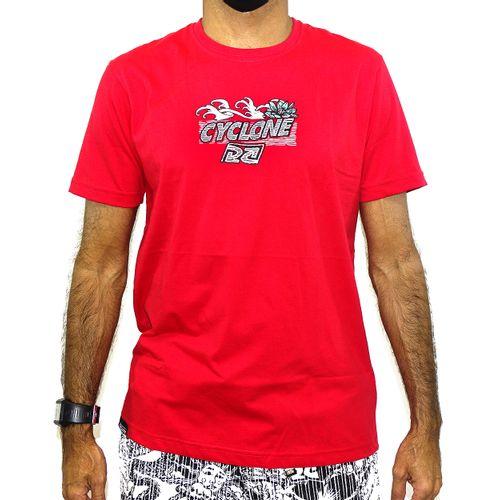 Camisa Oriental Puff New  Vermelho