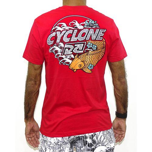 Costas Camisa Oriental Puff New  Vermelho
