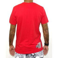 Costas Camisa Emblem Metal New  Vermelho