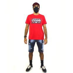 Look Camisa Label New  Vermelho