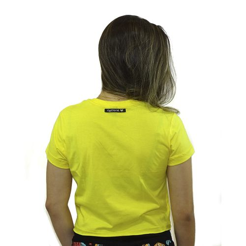Costas Baby Look Trade Mark Metal Amarelo