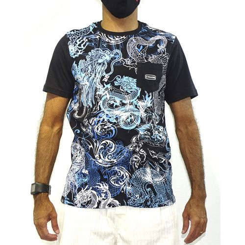 Camisa Dragon Azul