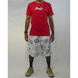 Look Camisa Race Metal Vermelho
