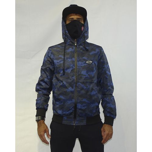 Casaco Windbreak Military Azul