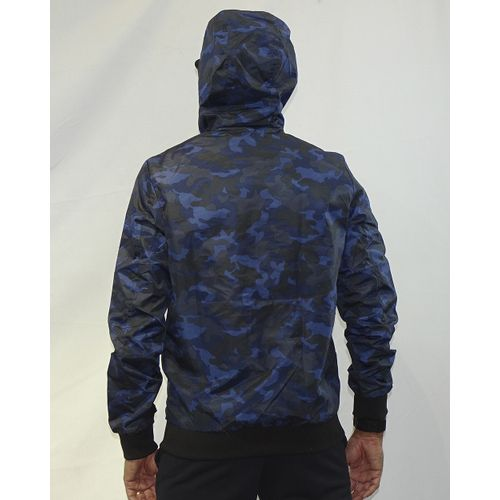 Costas Casaco Windbreak Military Azul