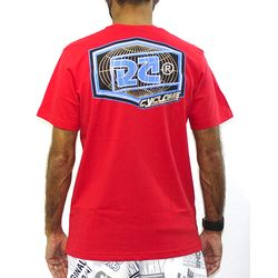 Costas Camisa Dinamic Metal  Vermelho
