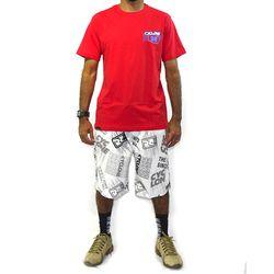 Look Camisa Dinamic Metal  Vermelho