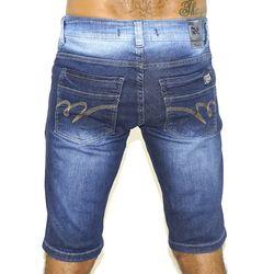 Costas Bermuda Jeans Stretch Metal
