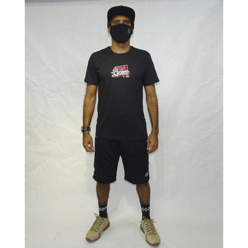 Look Camisa Roma Silk Preto