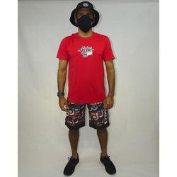 Look Camisa Patmos Silk Vermelho