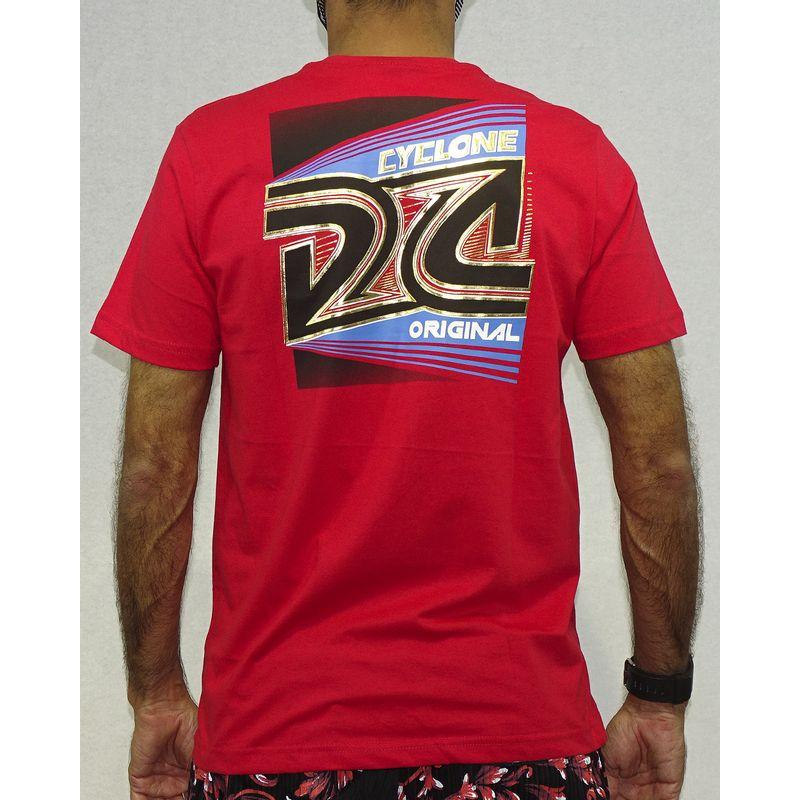 Costas Camisa Trindad Metal Vermelho